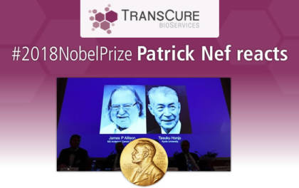 2018 Nobel Prize in Medicine Awarded to Cancer Immunotherapy Research - Patrick Nef reacts
