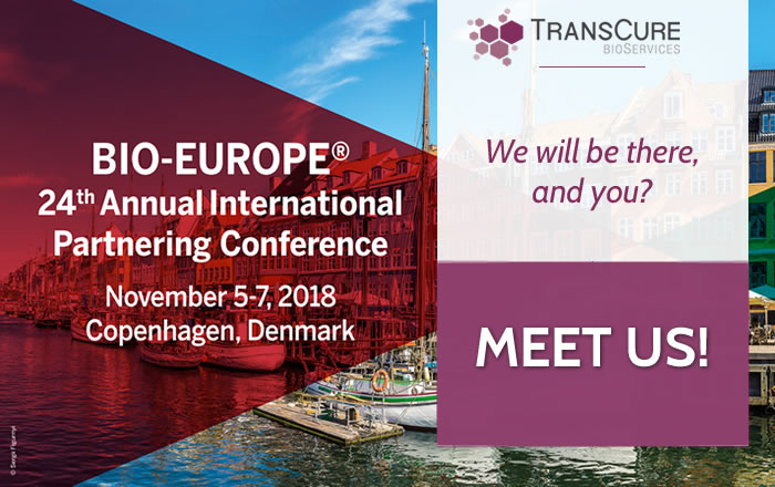 TransCure bioServices in BIO-EUROPE