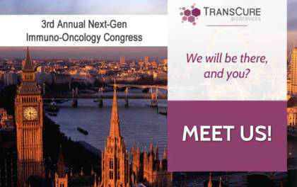 TransCure bioServices at 3rdAnnual Next-Gen Immuno-Oncology Congress