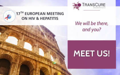 TransCure will be at: 17TH EUROPEAN MEETING ON HIV & HEPATITIS