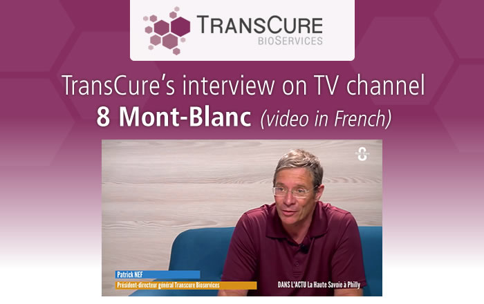 Interview of our CEO, Patrick NEF, for the TV channel 8 Mont-Blanc.