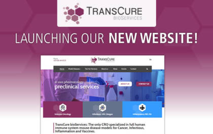 TransCure bioServices Launches his new website