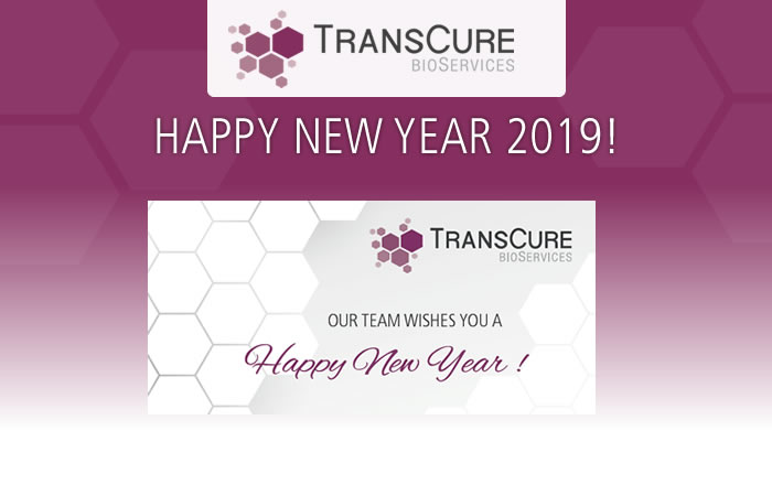 TransCure bioServices wishes you a Happy New Year !