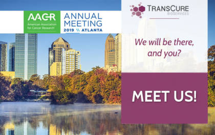 TransCure bioServices at AACAACR Annual Meeting 2019