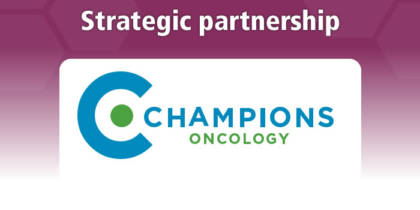 Champions Oncology, Inc. (NASDAQ: CSBR) signs a strategic partnership with TransCure bioServices SAS