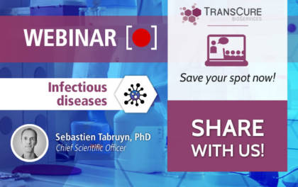 TransCure bioServices Webinar 2020 Series on Infectious diseases